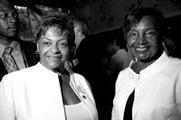 Harlem Council woman Inez Dickinson (Left)